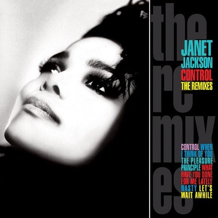 Janet Jackson - Control:  The Remixes 2LP