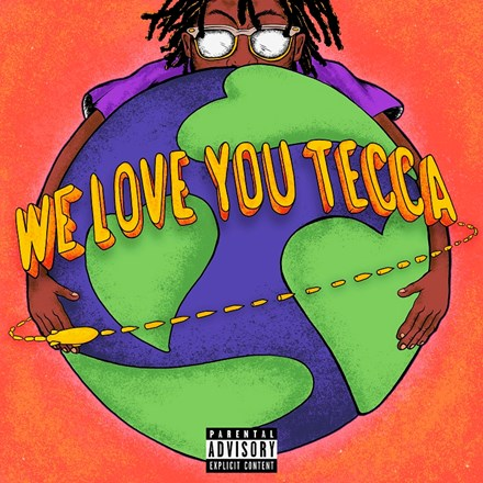 Lil Tecca - We Love You Tecca LP (Neon Orange Vinyl)