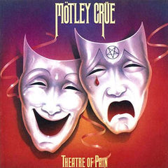Motley Crue - Theatre Of Pain LP (Orange Vinyl)