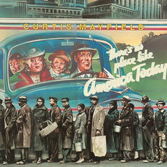 Curtis Mayfield - There's No Place Like America Today LP (Blue Vinyl)
