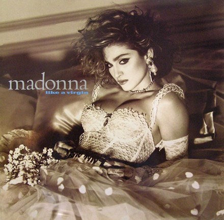 Madonna - Like A Virgin LP (Clear Vinyl)