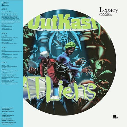 Outkast - Atliens 2LP Picture Disc