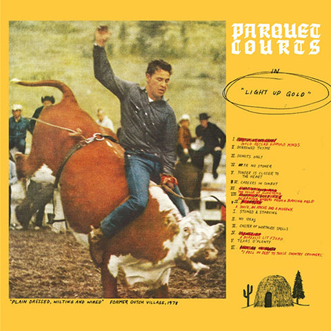 Parquet Courts - Light Up Gold LP (Glow In The Dark Vinyl)