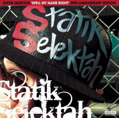Statik Selectah - Spell My Name Right 2LP (10th Anniversary Edition)