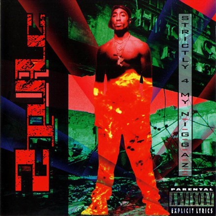 2Pac - Strictly For My N.I.G.G.A.Z. 2LP