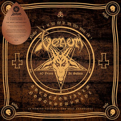 Venom - In Nomine Satanas 2LP (Gold With Black Splatter Vinyl)