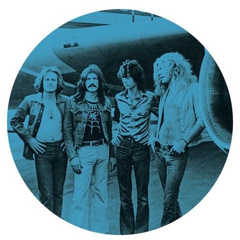 Led Zeppelin - Blue Plane Slipmat