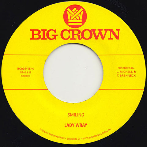 Lady Wray - Smiling / Make Me Over 7-Inch