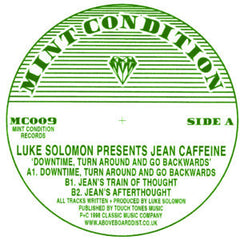 Jean Caffeine - Downtime, Turn Around 12-Inch