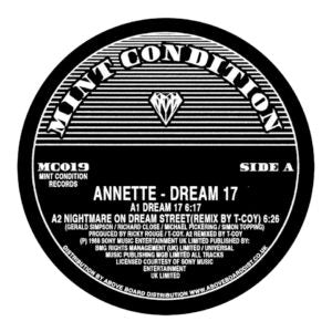 Annette - Dream 17 (Derrick May Remix) EP