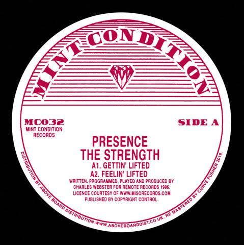 Presence - The Strength 12-Inch
