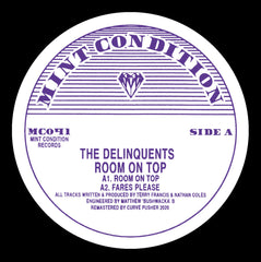 Delinquents - Room On Top EP