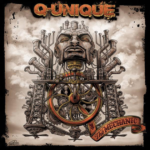 Q-Unique - The Mechanic LP (Orange Vinyl)