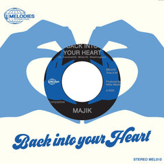 Majik - Back Into Your Heart 7-Inch