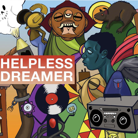 Mello Music Group Presents - Helpless Dreamer 2LP