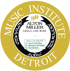 Alton Miller - Souls Like Mine 2LP