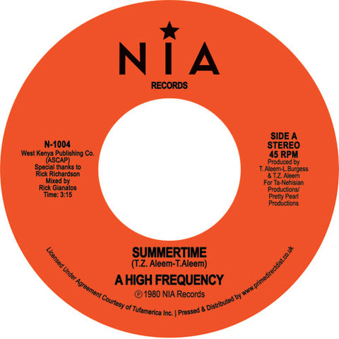 High Frequency - Summertime 7-Inch