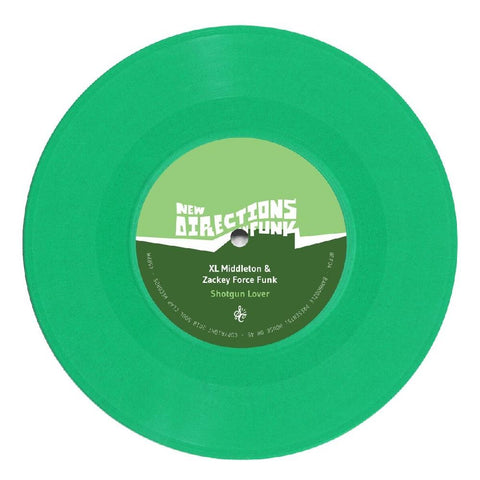 DJ Spinna / XL Middleton & Zackey Force Funk - New Directions In Funk Vol. 4 7-Inch