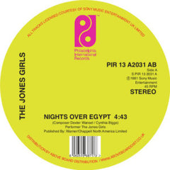 Jones Girls - Nights Over Egypt 12-Inch