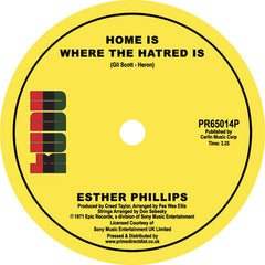 Esther Phillips - Home is Where The Hatred Is 7-Inch