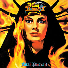 King Diamond - Fatal Portrait LP (Orange Vinyl)