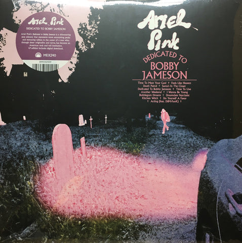 Ariel Pink - Dedicated To Bobby Jameson LP (Blue Vinyl)