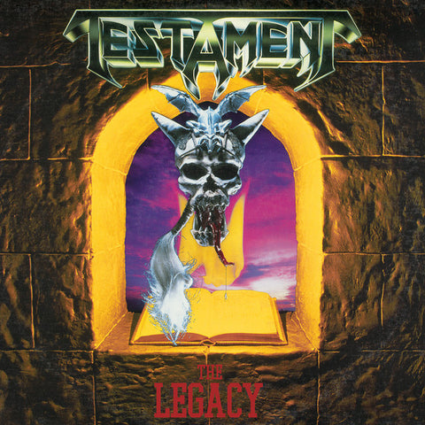 Testament - The Legacy LP (Green Vinyl)