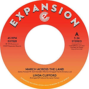 Linda Clifford - March Across Land 7-Inch