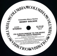 Benny Golson - I'm Always Dancin' To The Music 12-Inch