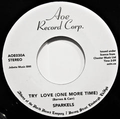 The Sparkels ‎– Try Love (One More Time) / That Boy Of Mine 7-Inch