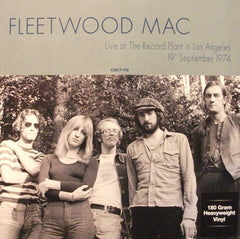 Fleetwood Mac ‎– Live At The Record Plant In Los Angeles 19th September 1974 LP