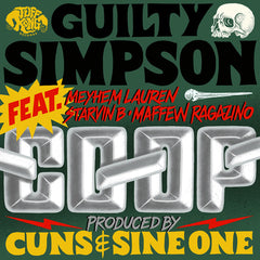 Guilty Simpson produced by Cuns & SINE One ‎– CO-OP 7-Inch