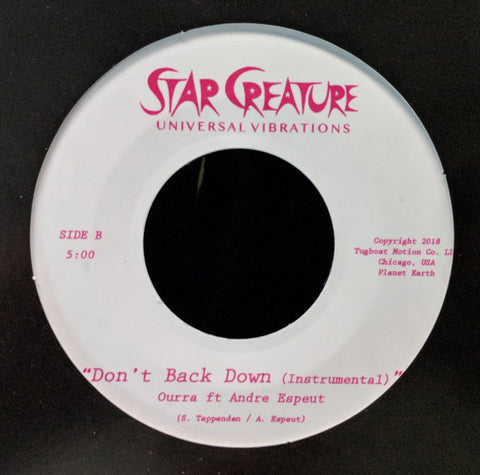 Ourra - Don't Back Down 7-Inch