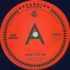 Joanie Summers - Don't Pity Me 7-Inch