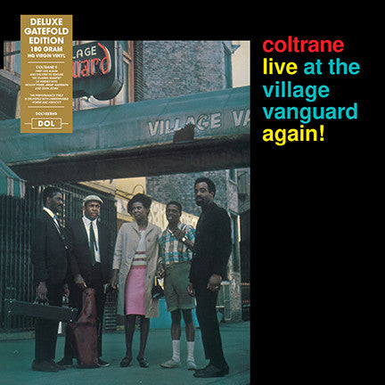 John Coltrane - Live At The Village Vanguard Again!  LP