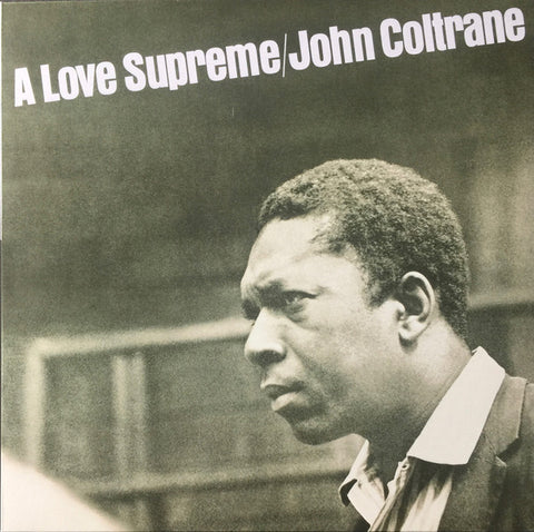 John Coltrane - A Love Supreme LP (Black Smoke Swirl Vinyl)