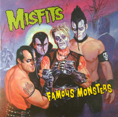 The Misfits - Famous Monsters LP (Green Vinyl, Booklet, Sticker Sheet)