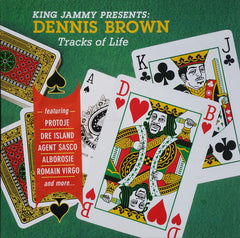 King Jammy Presents Dennis Brown ‎– Tracks Of Life LP + 7-Inch