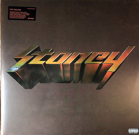Post Malone - Stoney 2LP (Orange Vinyl)