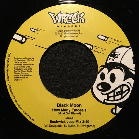 Black Moon - How Many Emcee's 7-Inch