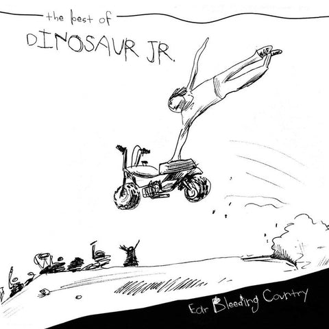 Dinosaur Jr. - Ear Bleeding Country (Best Of) LP (White Vinyl)