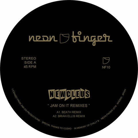 Newcleus - Jam On It Remixes EP