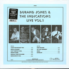 Durand Jones & The Indications - Live Vol 1 LP (Blue Vinyl)