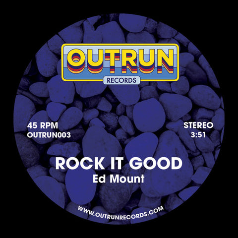 Ed Mount ‎– Rock It Good / Them Bloom  7-Inch