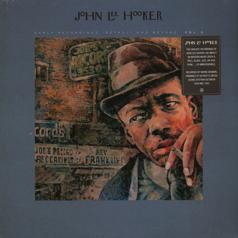 John Lee Hooker - Early Recordings: Detroit And Beyond Vol. 2 2LP