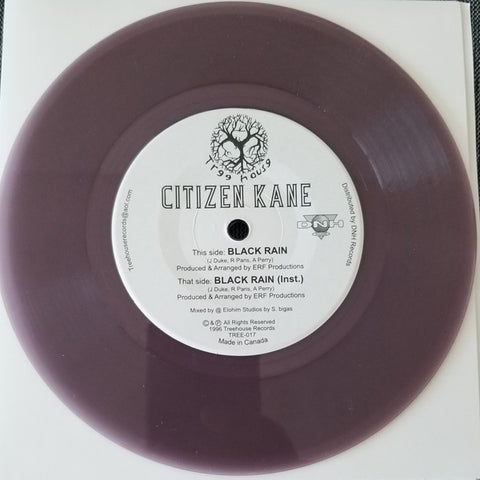 Citizen Kane - Black Rain 7-Inch (Purple Vinyl)