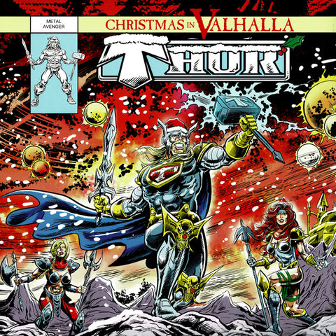 Thor - Christmas In Valhalla LP