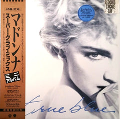 Madonna - True Blue (Super Club Mix) Blue Vinyl LP