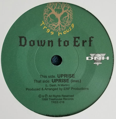 Down To Erf - Uprise 7-Inch