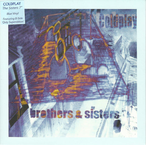 Coldplay ‎– Brothers & Sisters 7-Inch (Blue Vinyl)